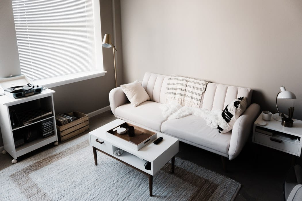upholstery and rug